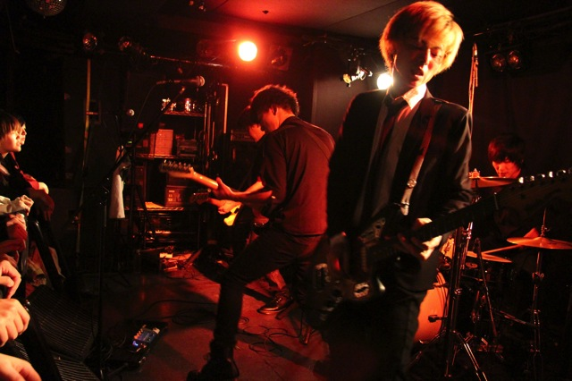 The pinballs live at shinjuku motion dec 20 2013 10