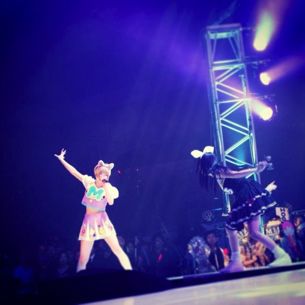 Dempagumi live photo like fighting game