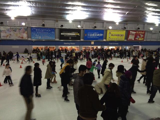 Report meijijingu gaien ice skating 05