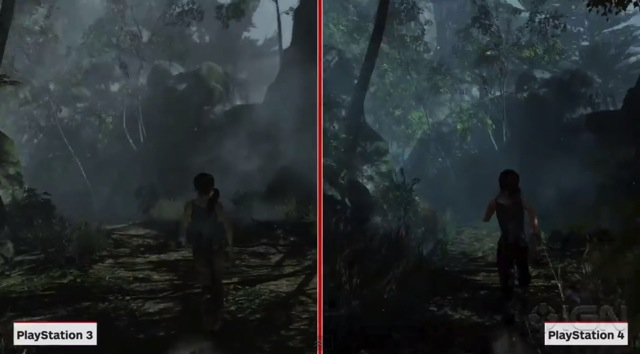 Tombraider compared ps3 to ps4 03
