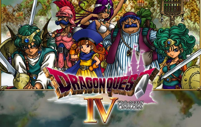 Dragon quest 4 official page open 01