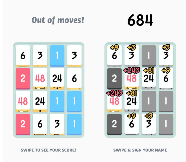 Iphone app threes 03