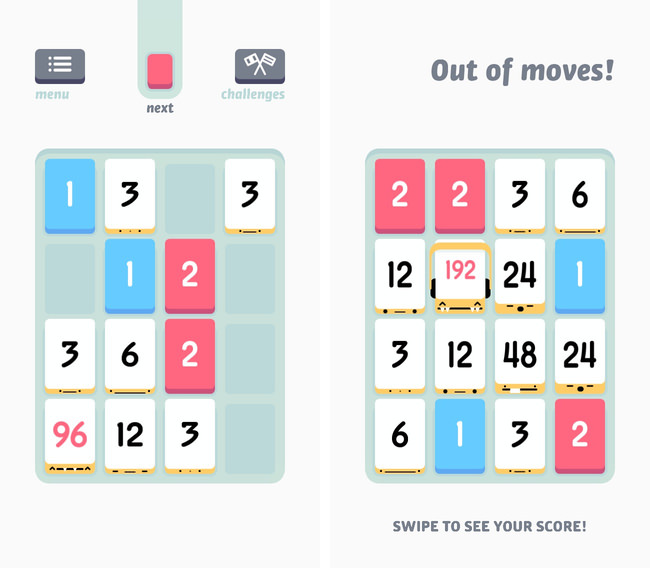 Iphone app threes 04