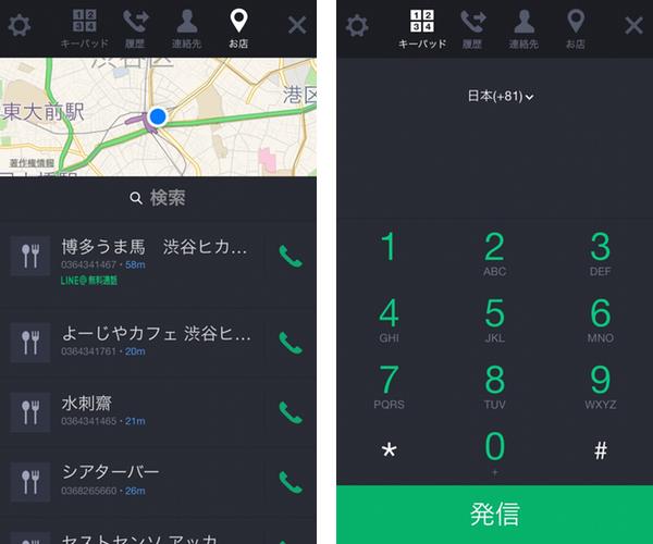 Line telephone service 01