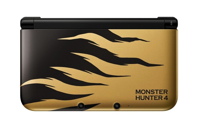 Nintendo 3dsll limited model for monster hunter 4 larjan 02