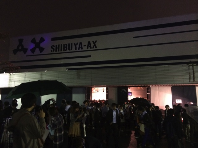 9mmxpassepied live at shibuya ax 01
