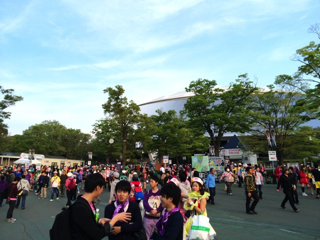 Momoclo angel eyes live 1st day 2014 02
