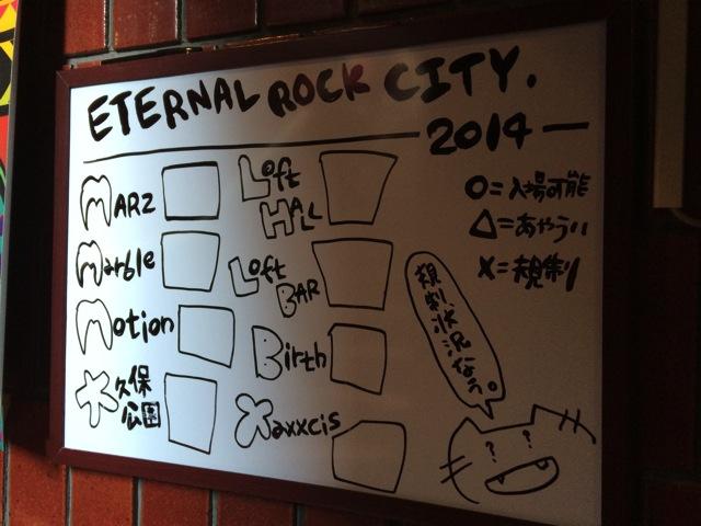 The pinballs live at eternal rock city april 5th 2014