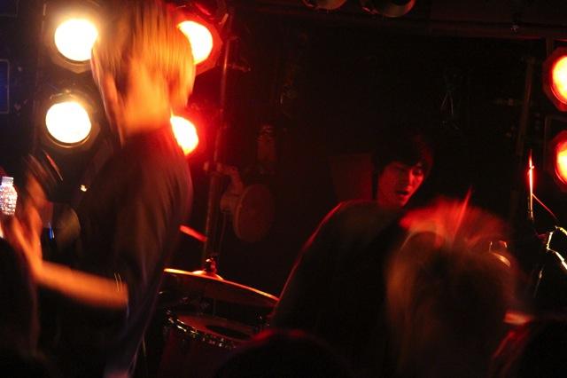 The pinballs live at shimokitazawa daisy bar april 19th 2014 10
