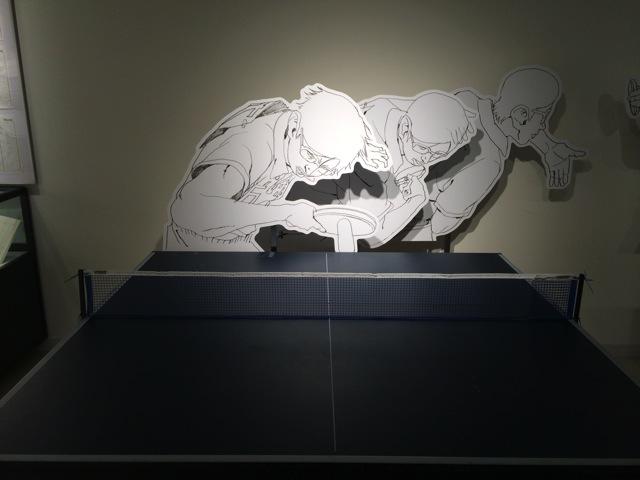 Pingpong exhibition at shibuya towerrecord 09
