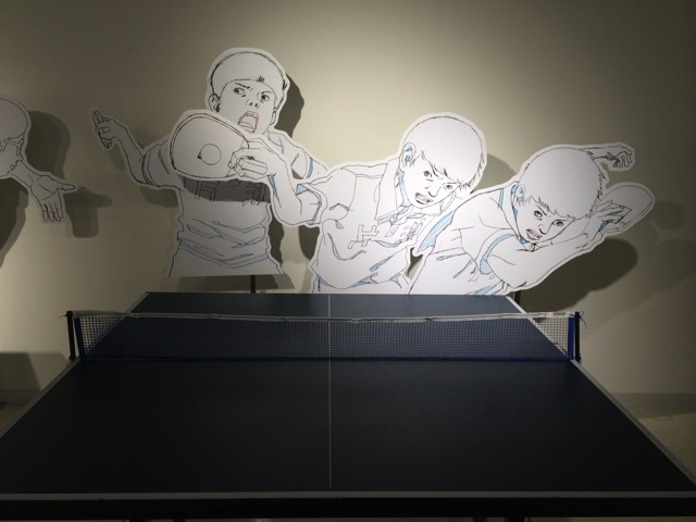 Pingpong exhibition at shibuya towerrecord 10