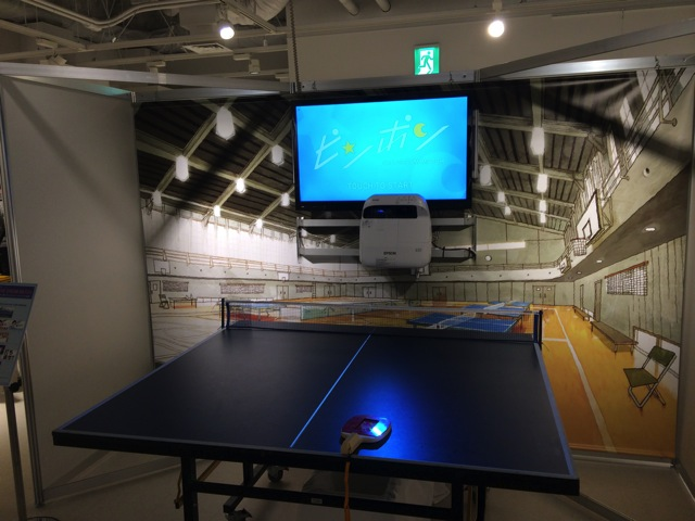 Pingpong exhibition at shibuya towerrecord 11