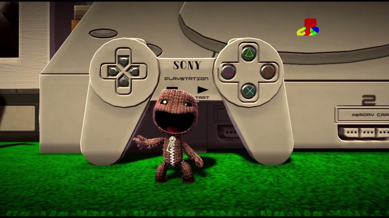 Playstation 20thaniversary trailer made by little big planet 3