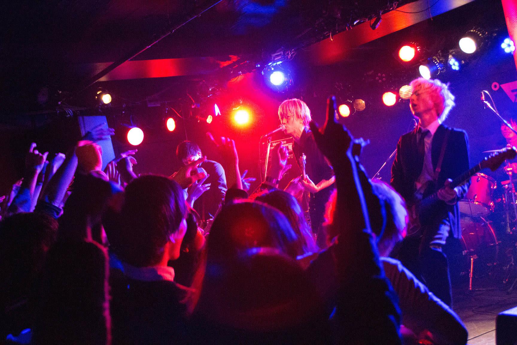 The pinballs live at shindaita fever dec 21th 2014 17