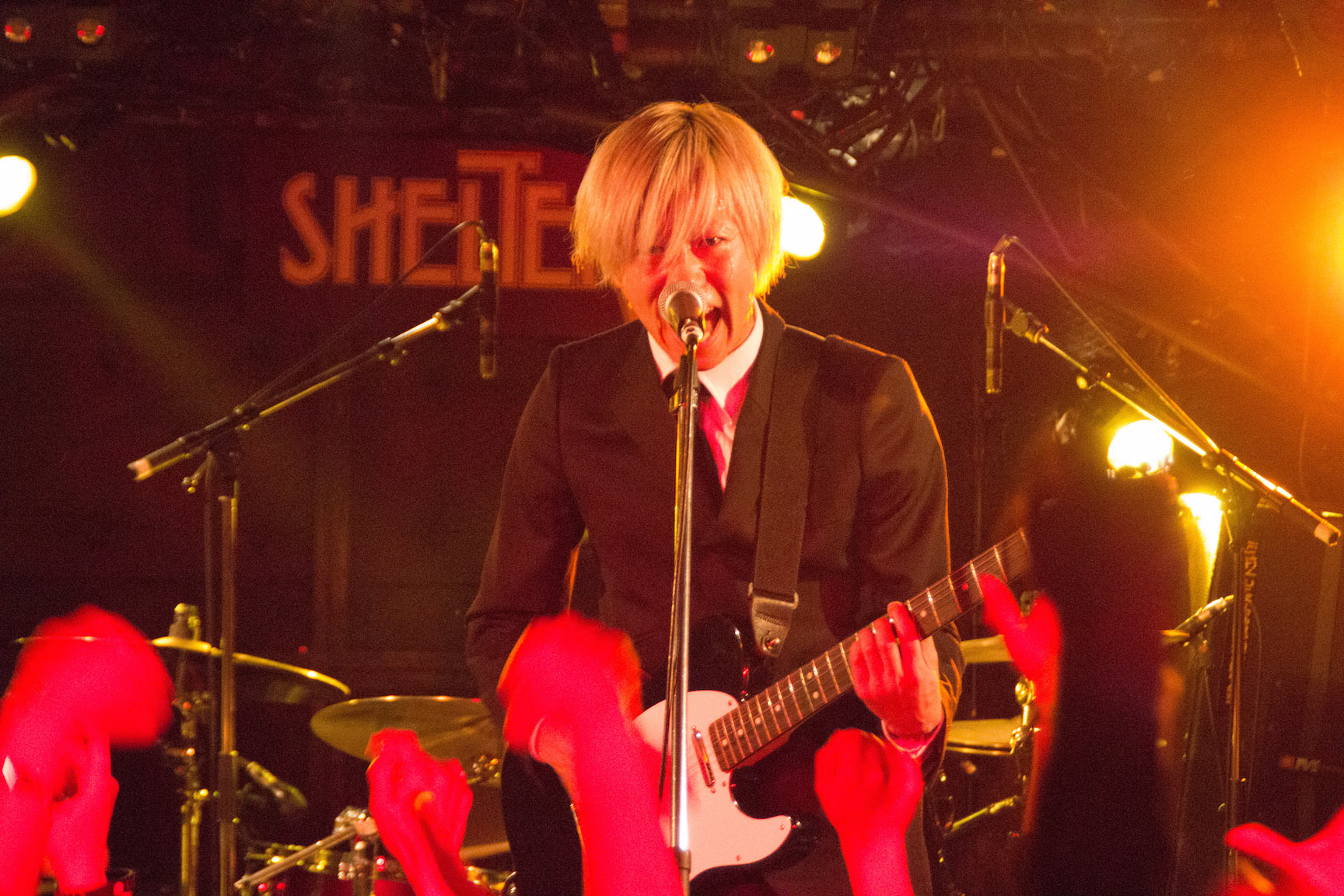 The pinballs live at shimokitazawa shelter dec 31st 2014 03