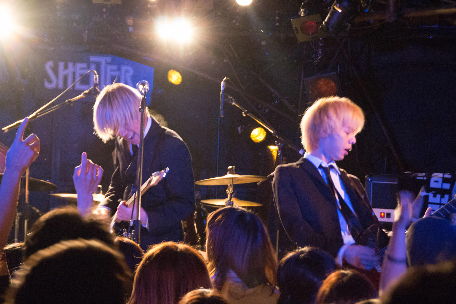 The pinballs live at shimokitazawa shelter dec 31st 2014 04