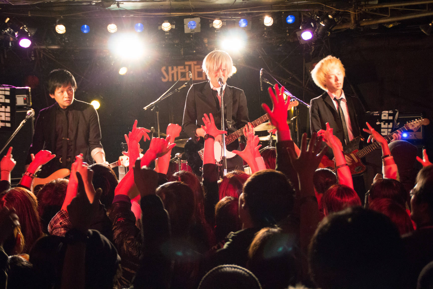 The pinballs live at shimokitazawa shelter dec 31st 2014 10