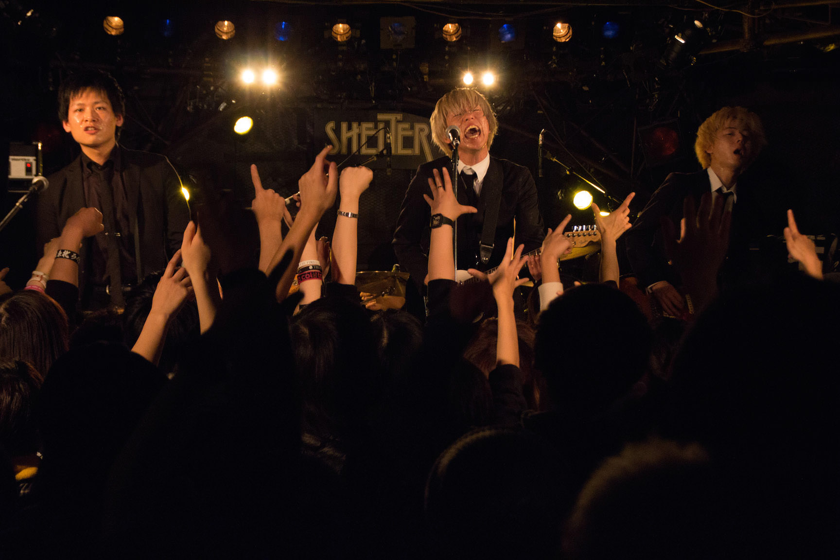 The pinballs live at shimokitazawa shelter dec 31st 2014 11