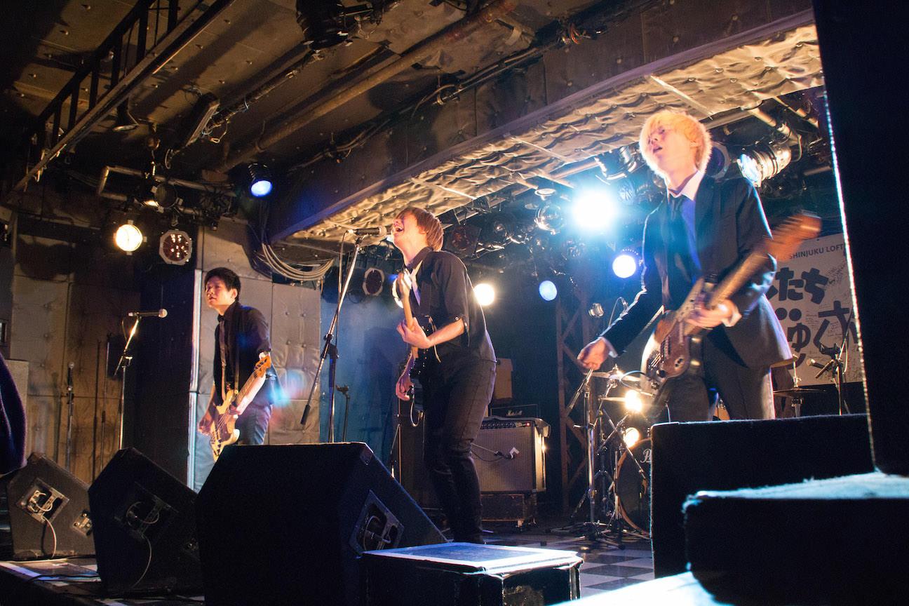 The pinballs live at shinjuku loft feb 24th 2015 06