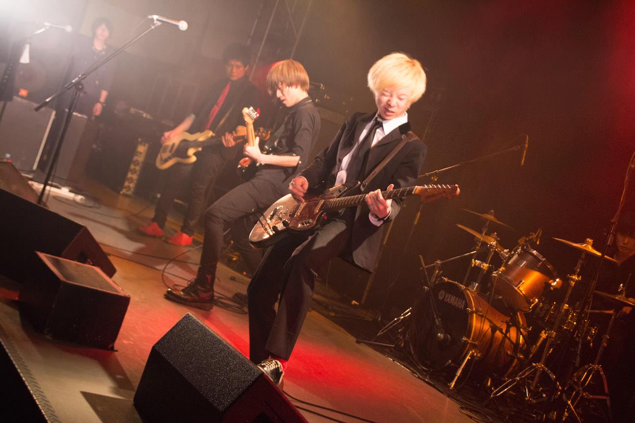 The pinballs live at shibuya duo music exchange mar 5th 2015 04