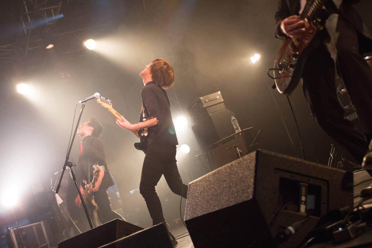 The pinballs live at shibuya duo music exchange mar 5th 2015 10