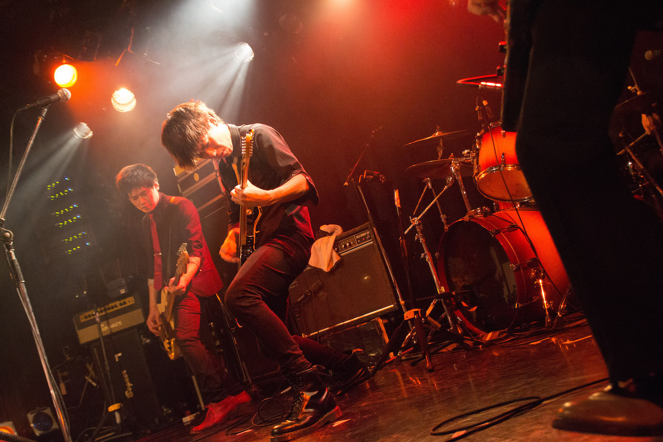 The pinballs live at shibuya eggman apl 15th 2015 06