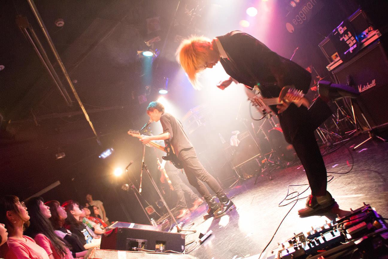 The pinballs live at shibuya eggman apl 15th 2015 07