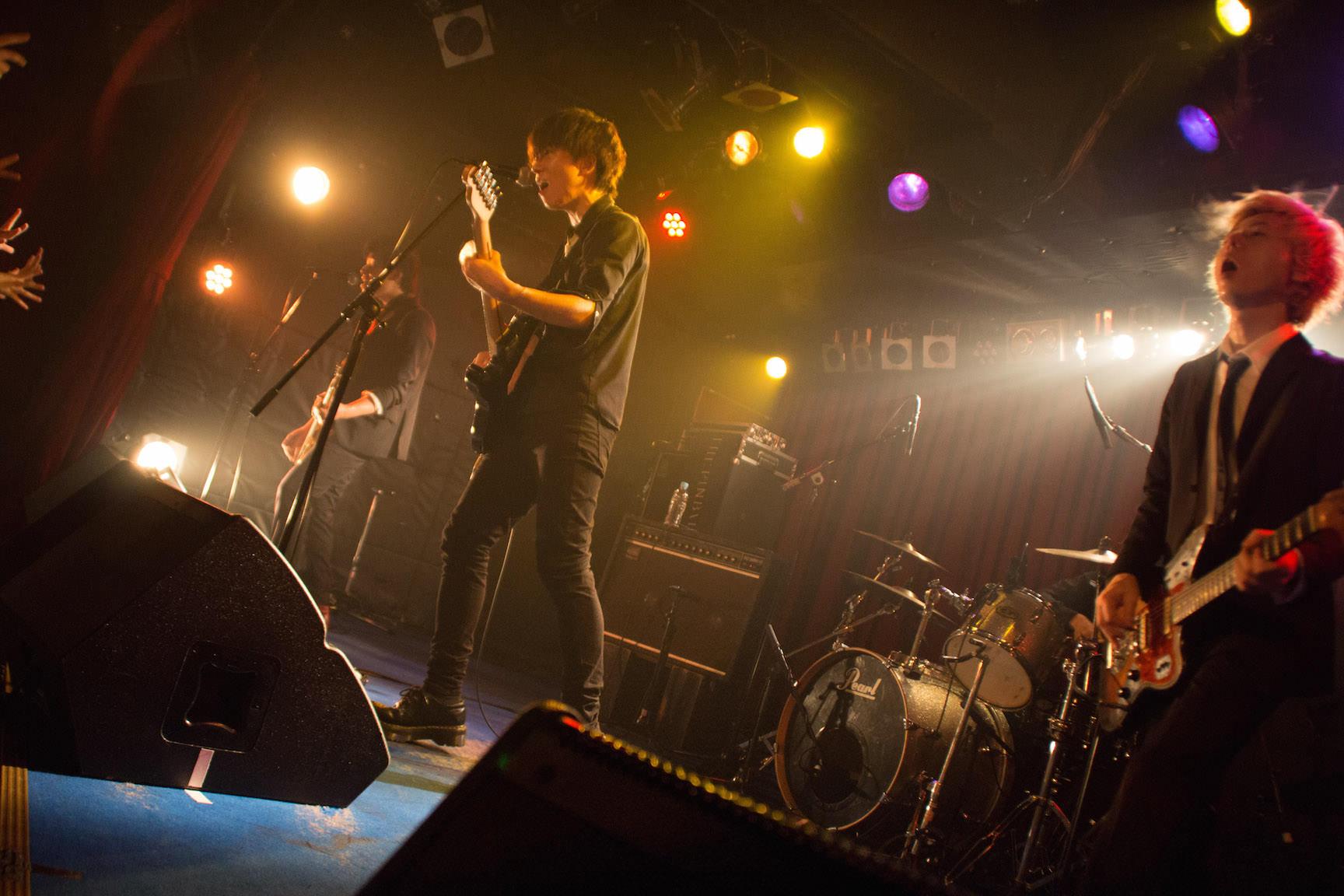 The pinballs live at shibuya star lounge may 2nd 2015 12