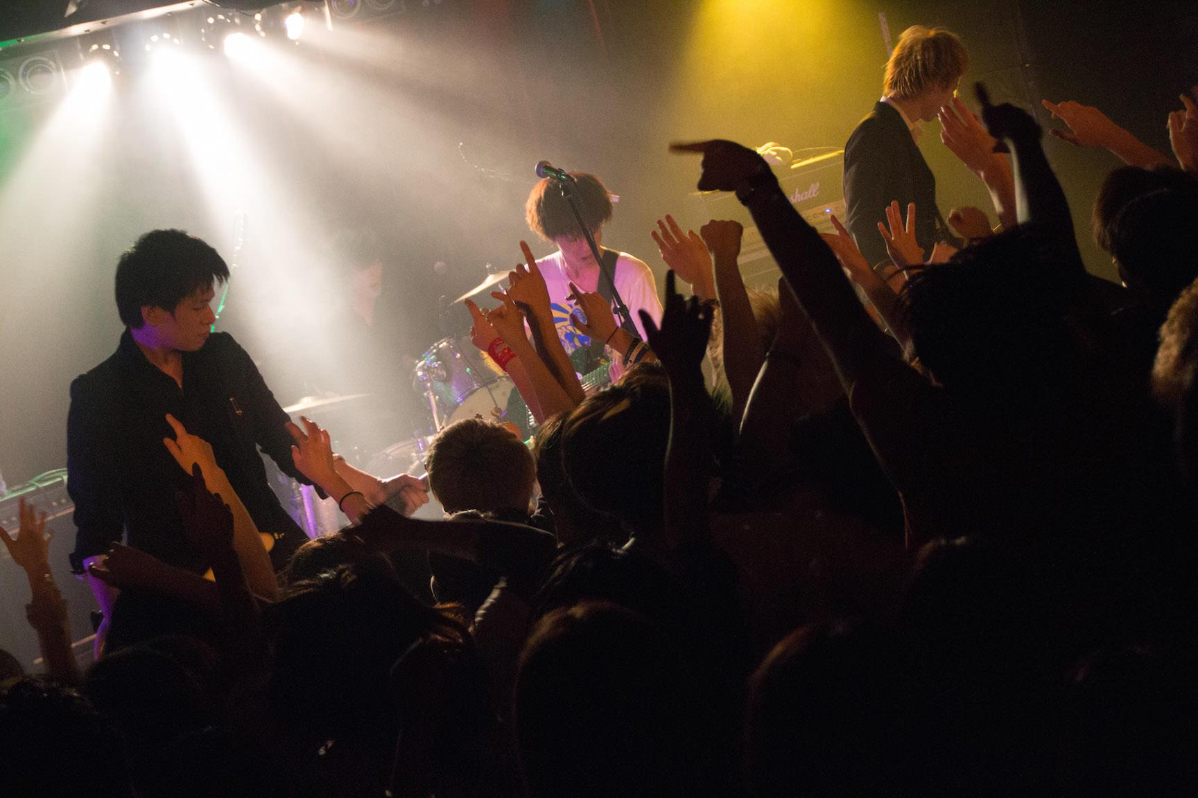 The pinballs live at shibuya star lounge may 2nd 2015 22