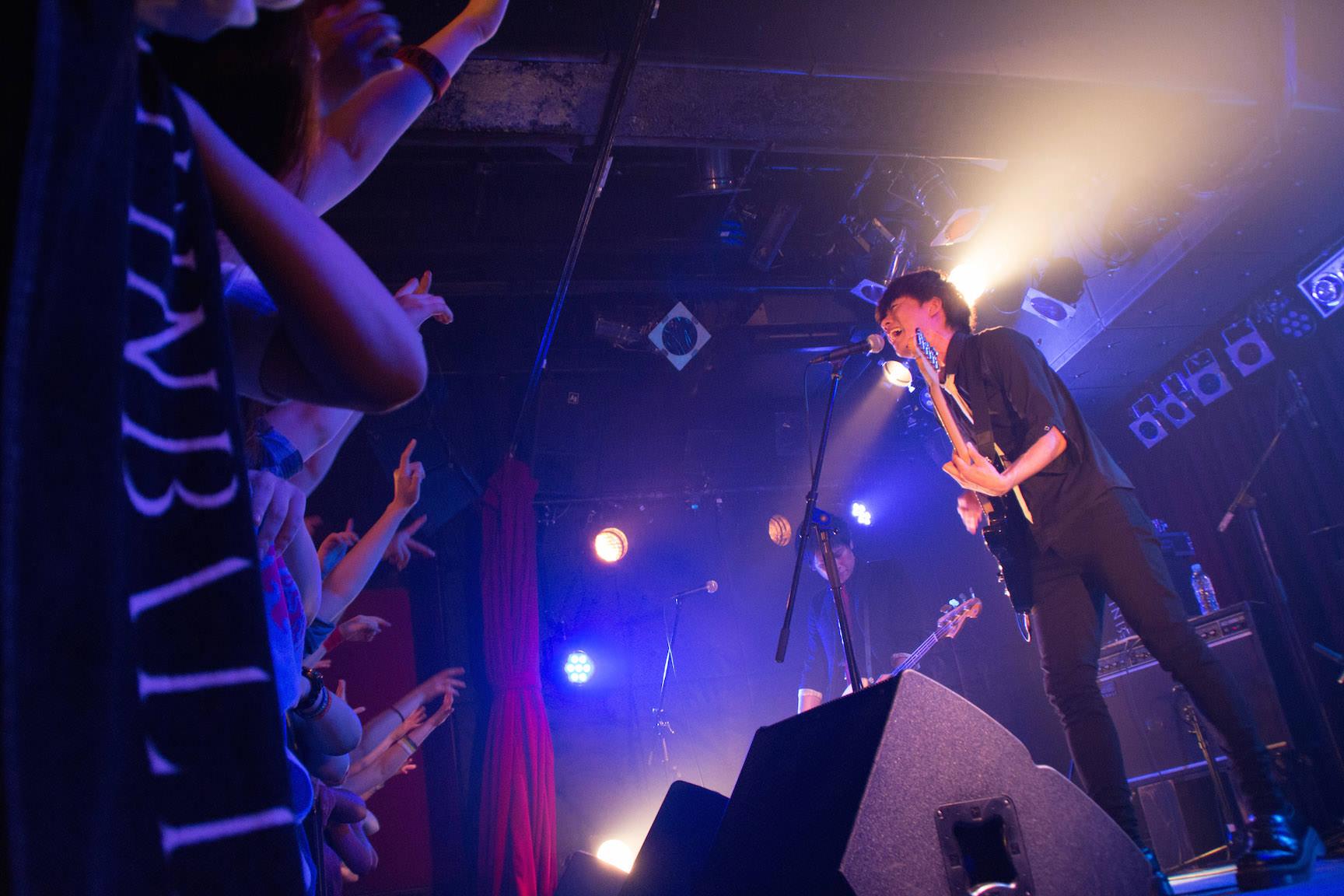 The pinballs live at shibuya star lounge may 2nd 2015 7