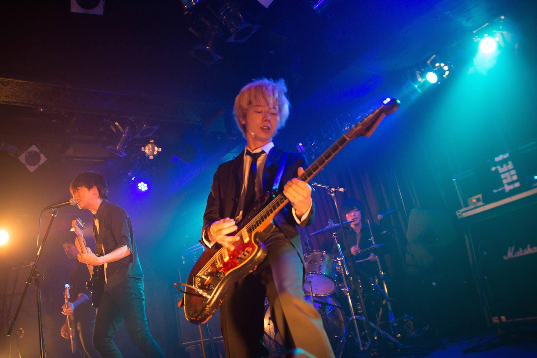 The pinballs live at shibuya star lounge may 2nd 2015 8