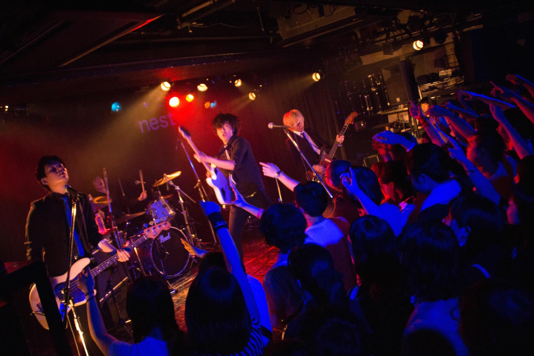 The pinballs live at shibuya tsutaya o nest jul 16th 2015 1
