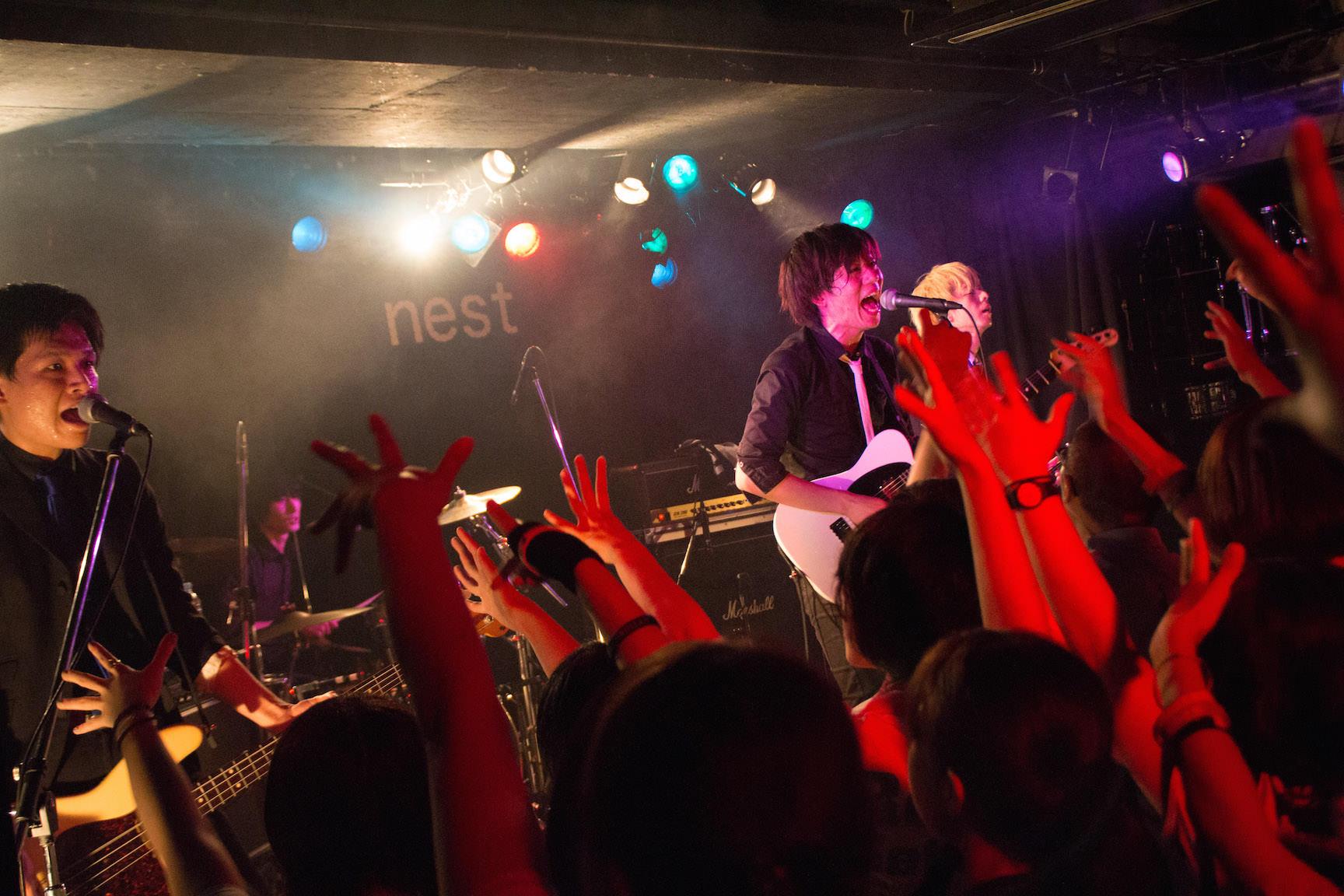 The pinballs live at shibuya tsutaya o nest jul 16th 2015 13