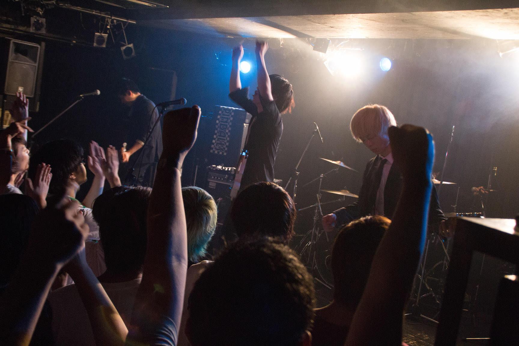 The pinballs live at shibuya tsutaya o nest jul 16th 2015 9