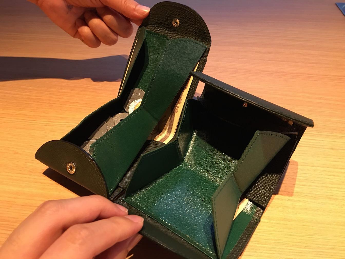 Caltolare reception hammock wallet compact 21