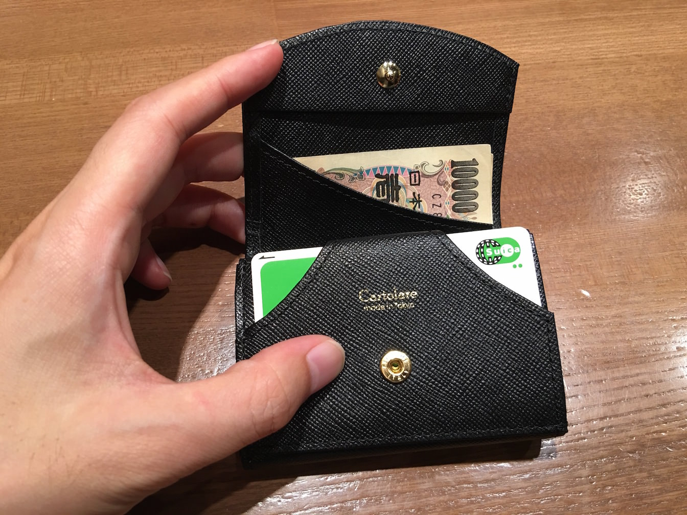 Hammock wallet compact first impression 13