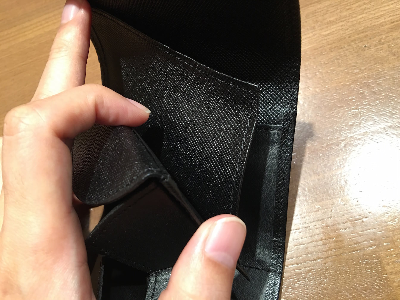 Hammock wallet compact first impression 7