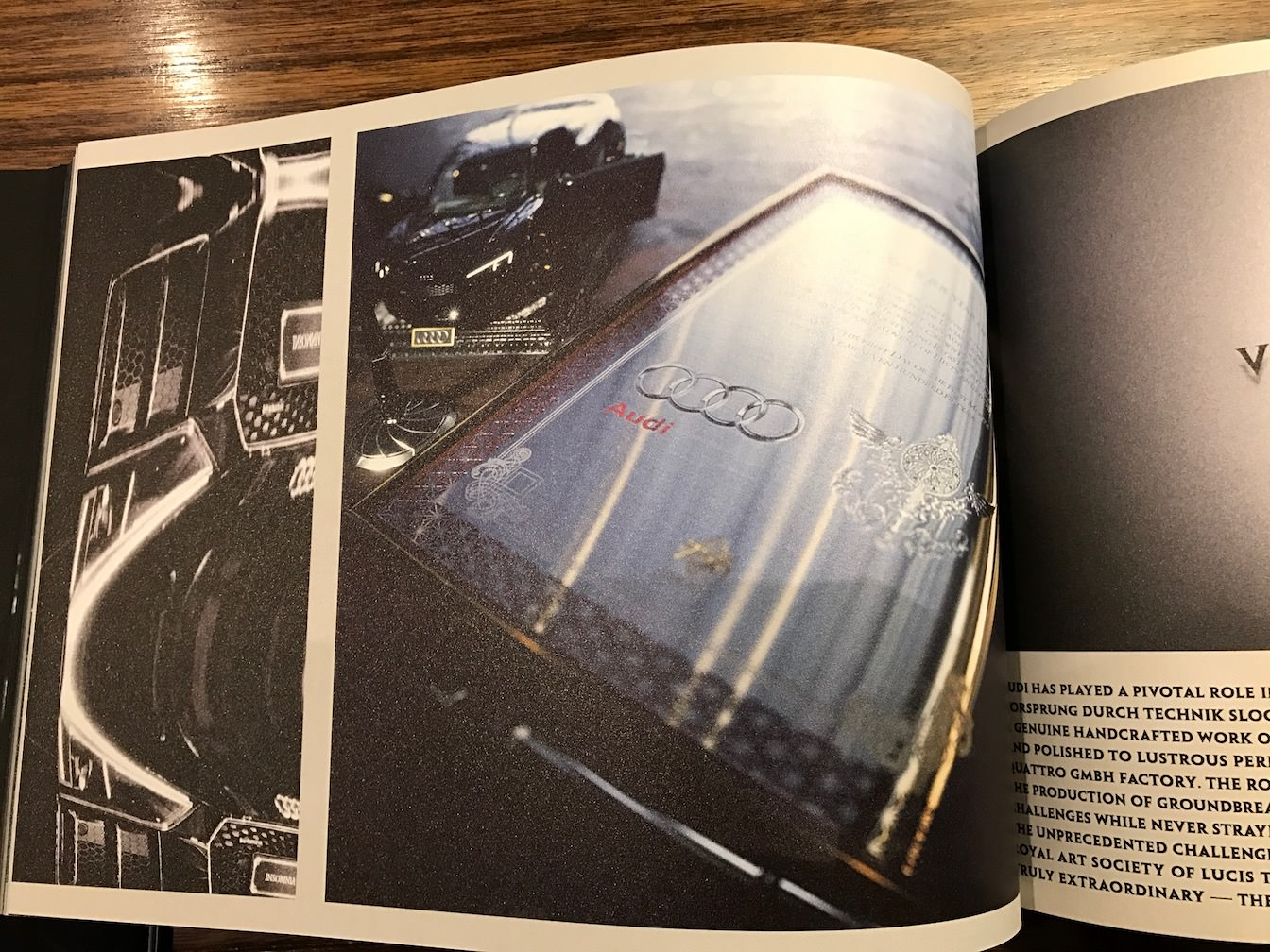 The audi r8 star of lucis concept book review 10