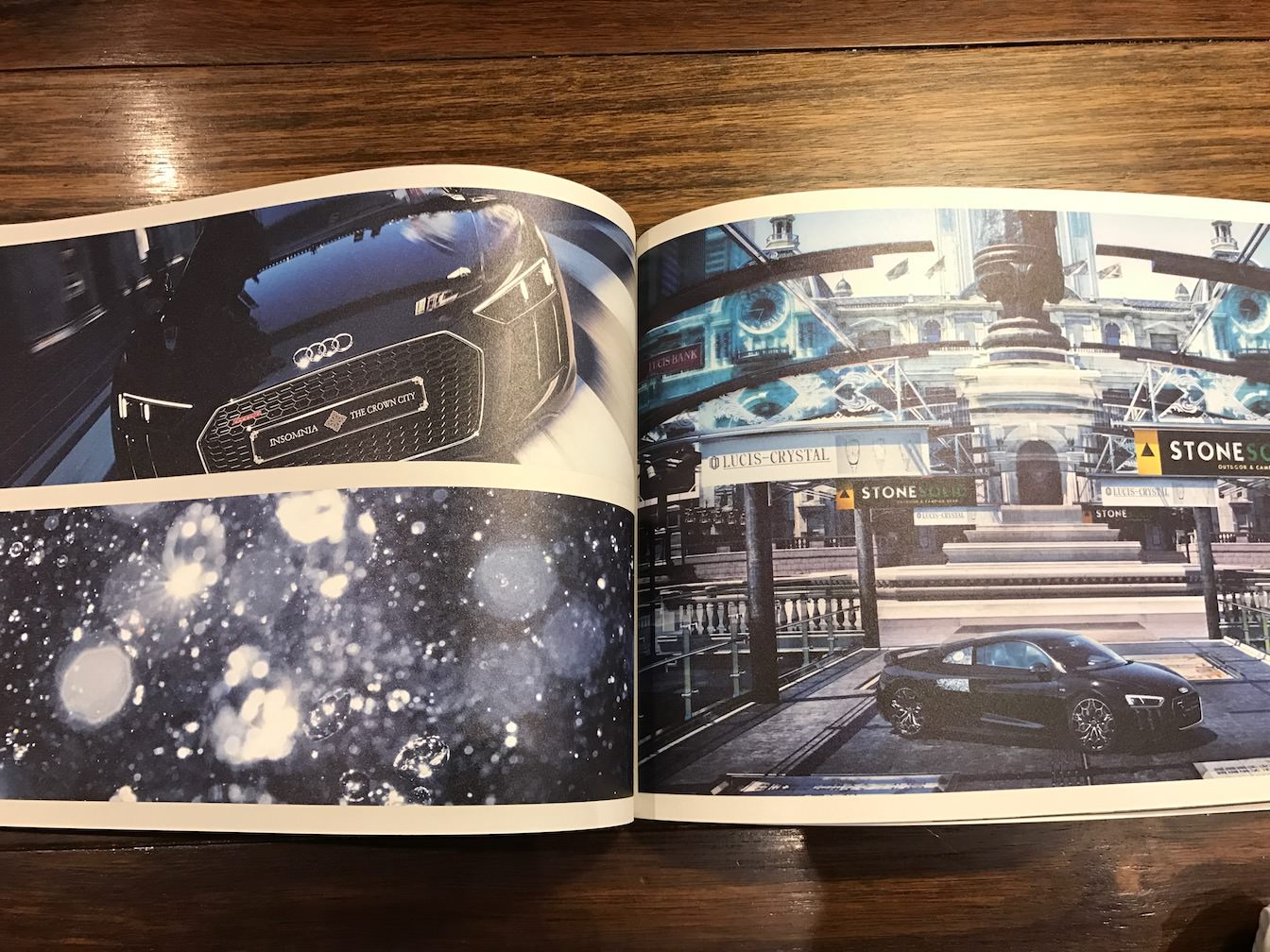 The audi r8 star of lucis concept book review 11