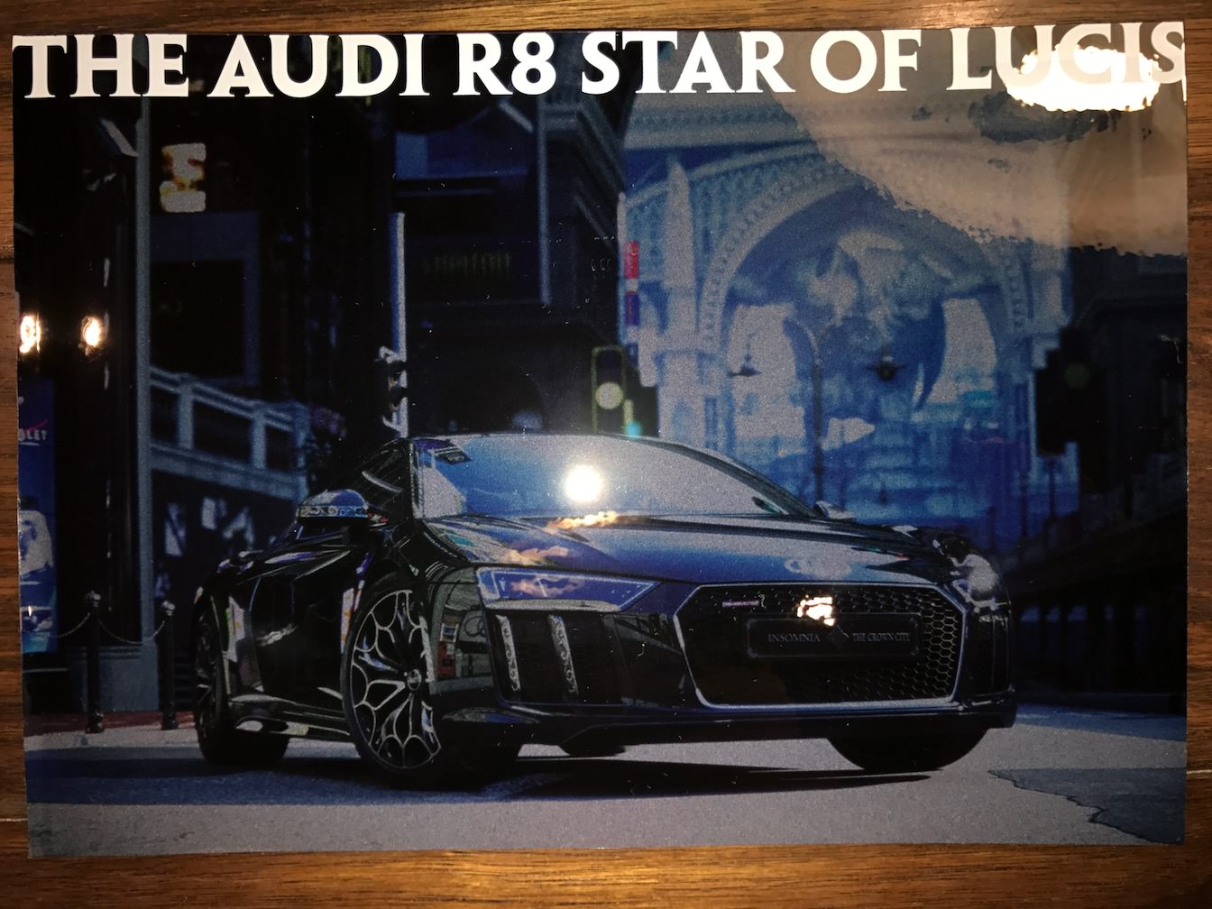 The audi r8 star of lucis concept book review 5