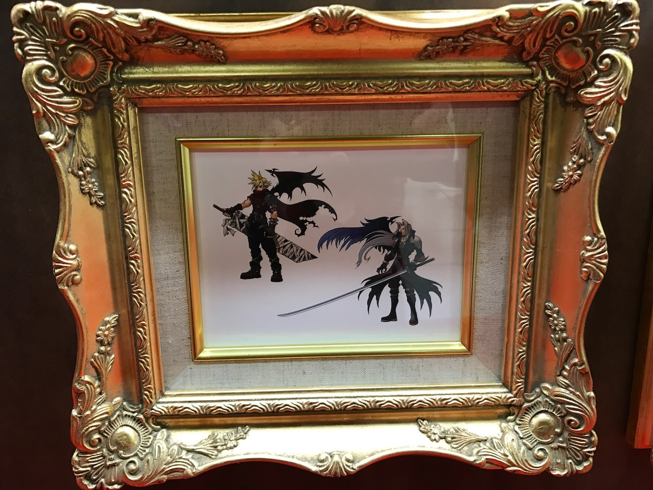 Kingdomhearts 15th anniversary exhibition at shinjuku 17