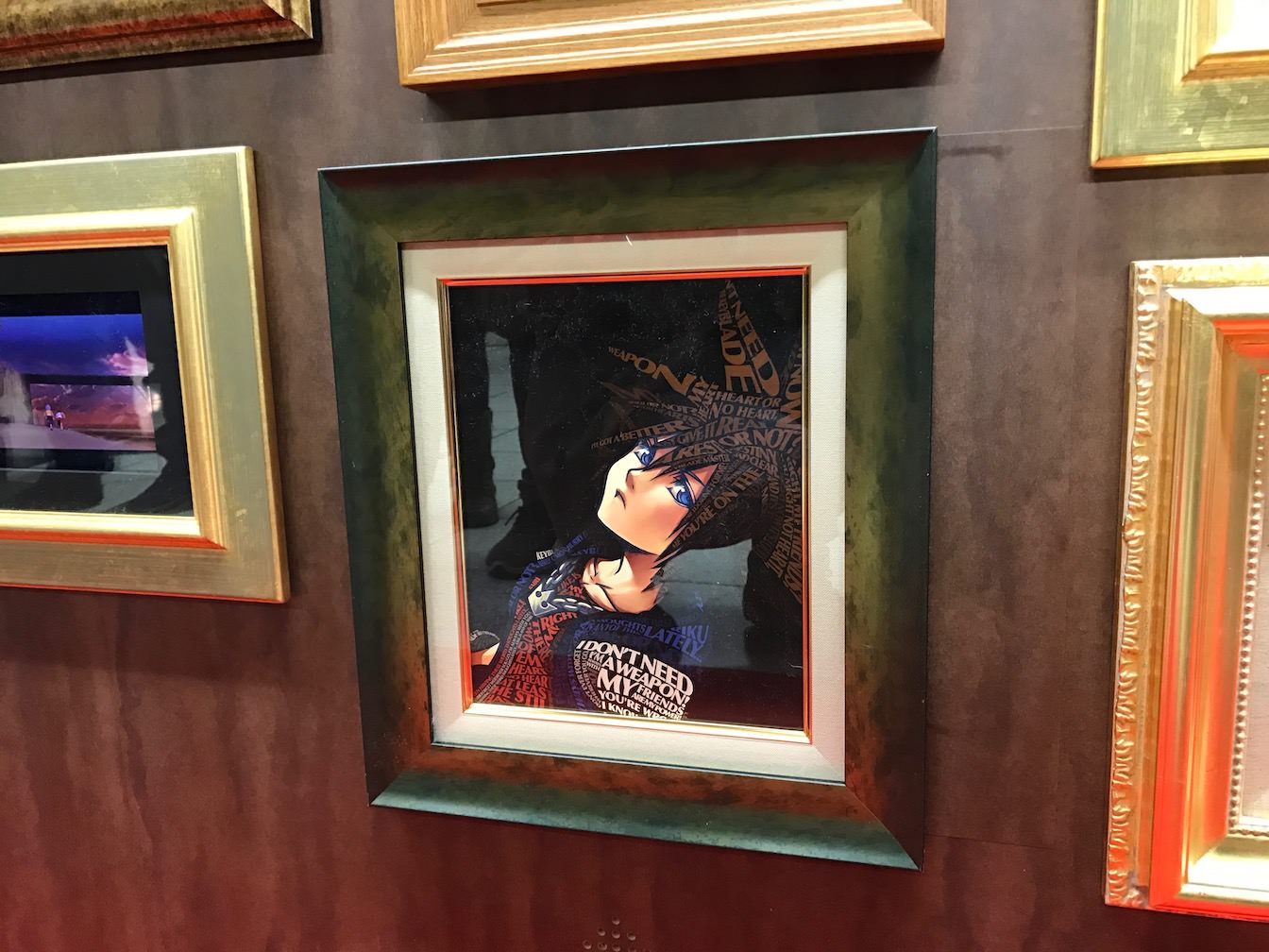 Kingdomhearts 15th anniversary exhibition at shinjuku 21