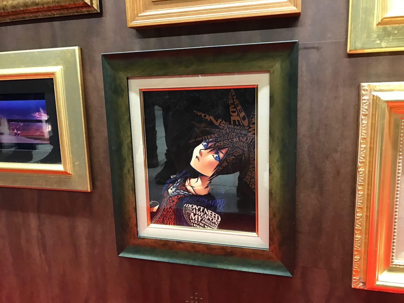 Kingdomhearts 15th anniversary exhibition at shinjuku 21