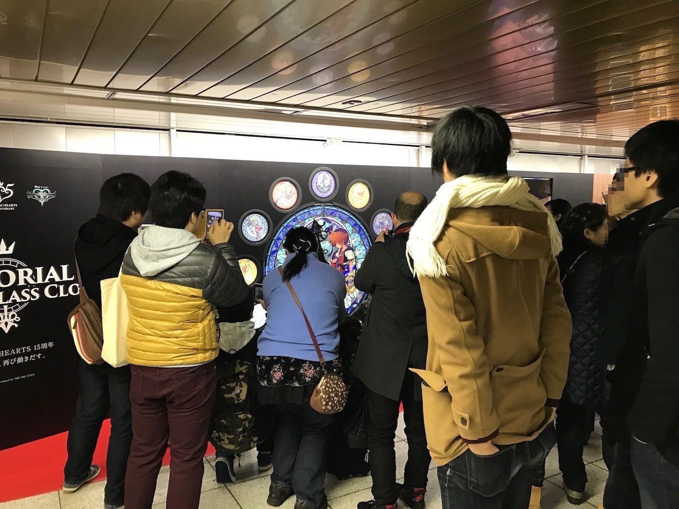 Kingdomhearts 15th anniversary exhibition at shinjuku 4