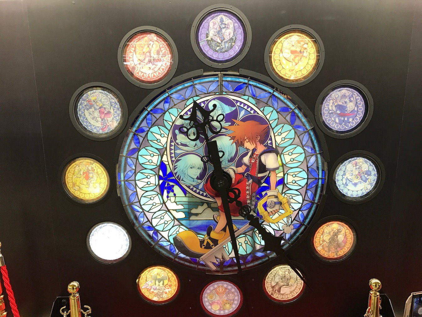 Kingdomhearts 15th anniversary exhibition at shinjuku 5