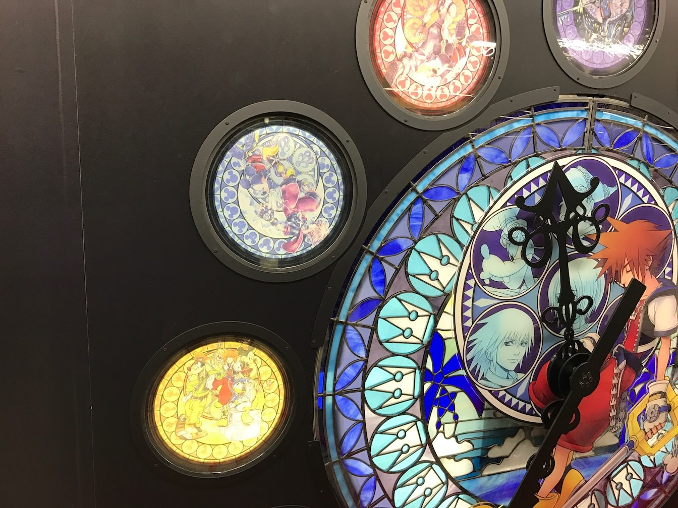 Kingdomhearts 15th anniversary exhibition at shinjuku 7