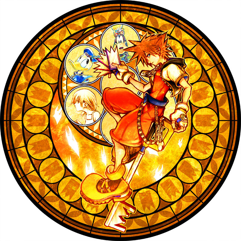 Kingdomhearts fcp stained glass 3