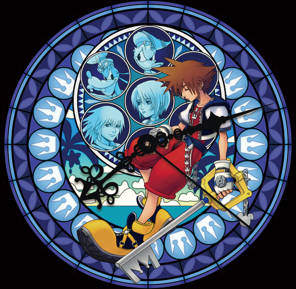 Kingdomhearts fcp stained glass 6