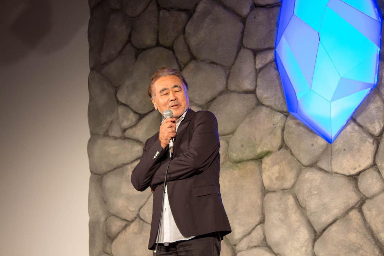 Ff30th anniversary exhibition press conference 4