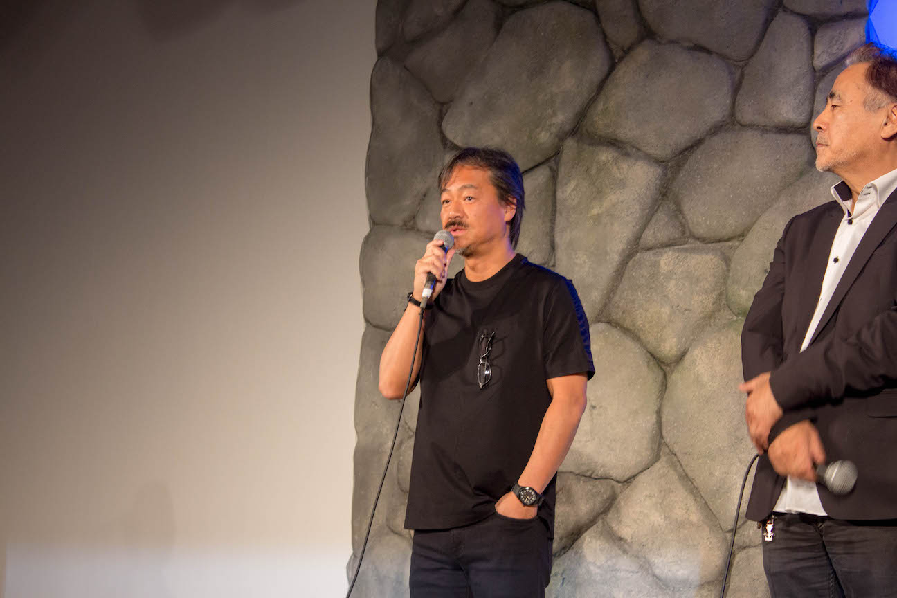 Ff30th anniversary exhibition press conference 6
